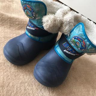 ディズニー(Disney)の17cm スノーブーツ 冬ぐつ 男の子(ブーツ)