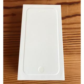 アイフォーン(iPhone)のiPhone6 シルバー 16GB 空箱(その他)