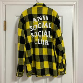 アンチ(ANTI)のANTI SOCIAL SOCIAL CLUB Flannel Shirt L(シャツ)