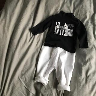 ユニクロ(UNIQLO)のハンドメイド UNIQLOタートルロンT90(Tシャツ/カットソー)