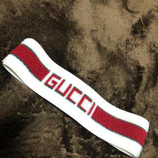 グッチ(Gucci)のGUCCI ヘアバンド(バンダナ/スカーフ)