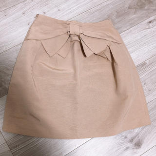 デビュードフィオレ(Debut de Fiore)のバックリボンスカート(ひざ丈スカート)