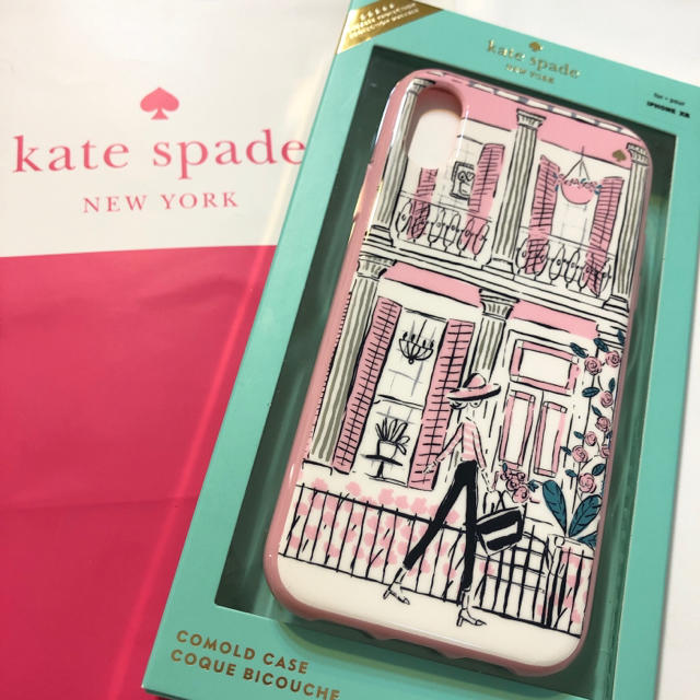 kate spade new york - ケイトスペード iPhone XR ケース ピンク レディー バラ アイフォーンの通販 by なつみ's shop|ケイトスペードニューヨークならラクマ