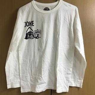 スーパー(SUPER)の新品 長袖 白色Tシャツ(Tシャツ/カットソー(七分/長袖))