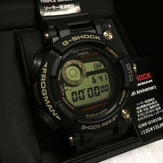 ジーショック(G-SHOCK)の☆MAX様専用☆GWF-D1035B-1JR☆35周年☆フロッグマン☆(腕時計(デジタル))