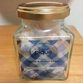 ジェラートピケ(gelato pique)のジェラートピケ バスソルト ローズ&イランイランの香り 中身のみ(入浴剤/バスソルト)