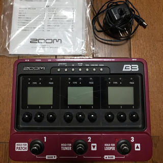 zoom b3 中古(ベースエフェクター)