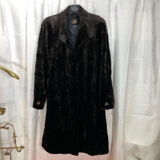 バレンシアガ(Balenciaga)のバレンシアガ シェアードミンク ロングコート 正規品(毛皮/ファーコート)