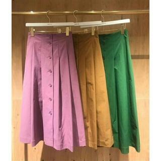 フレイアイディー(FRAY I.D)の❤完売品❤ フレイアイディー ツイルボタンスカート 今季(ロングスカート)