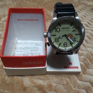 ニクソン(NIXON)のNIXON メンズ腕時計 (ラバーベルト)