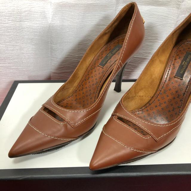 LOUIS VUITTON(ルイヴィトン)のLV ルイヴィトン ヒール 靴 正規品 レディースの靴/シューズ(ハイヒール/パンプス)の商品写真