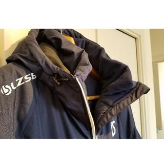 ルース(LUZ)のルースイソンブラ サイズL ネイビー 中綿ハーフコート(ウェア)