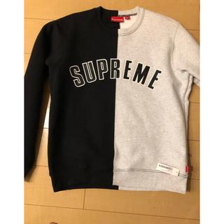 シュプリーム(Supreme)のSUPREME Split Crewneck Sweatshirt(スウェット)