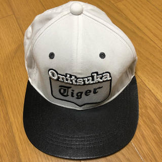 d12b1692a9d オニツカタイガー(Onitsuka Tiger)のキャップ (オニツカタイガー)(キャップ)