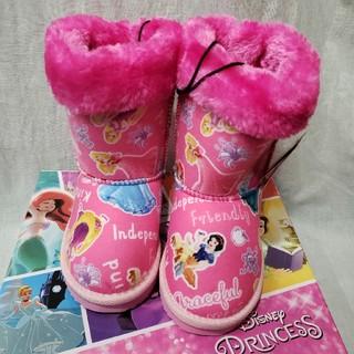 ディズニー(Disney)のディズニー プリンセス ムートンブーツ 17㎝(ブーツ)