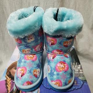 ディズニー(Disney)のディズニー アナと雪の女王 ムートンブーツ 17㎝(ブーツ)