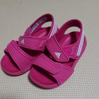 アディダス(adidas)のアディダス(adidas)ベビーサンダル 14㎝(サンダル)