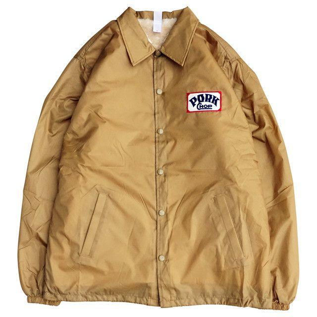 TENDERLOIN(テンダーロイン)のSサイズ ポークチョップ ボア コーチジャケット 新品  メンズのジャケット/アウター(ナイロンジャケット)の商品写真