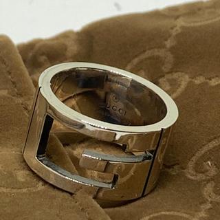 グッチ(Gucci)のGucci Gマーク リング 17号 指輪 新品研磨仕上げ済み(リング(指輪))