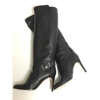 クリスチャンディオール(Christian Dior)のChristian Dior ディオール ロングブーツ 黒(ブーツ)