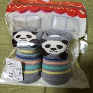 キッズズー(kid's zoo)のキッズズー☆新品パンダさん靴下(靴下/タイツ)