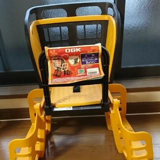 【残りわずか】自転車子供乗せRBCー009S3 チョコ/オレンジ(自転車)