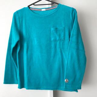 ジーユー(GU)のGU ポートネック 長袖 140(Tシャツ/カットソー)