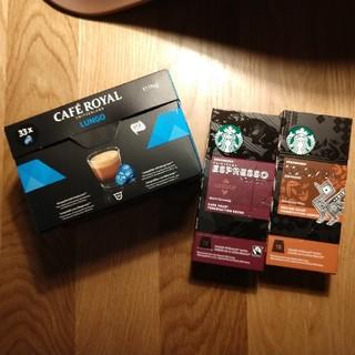 スターバックスコーヒー(Starbucks Coffee)のネスプレッソ★スタバ★カプセル(その他)