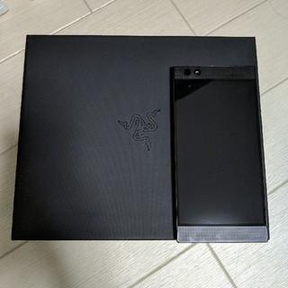 RAZER phone Special Green Edition 64GB(スマートフォン本体)