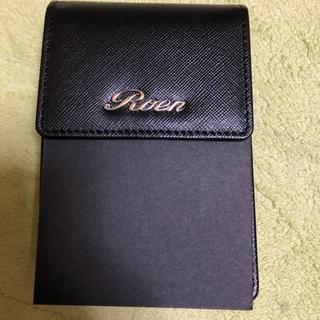 ロエン(Roen)の新品、未使用 ROEN ロエン シガレットケース ブラック(タバコグッズ)