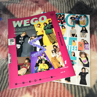 ウィゴー(WEGO)のWEGO フリーペーパー YouTuber(ファッション)
