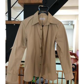 アトリエサブ(ATELIER SAB)のベージュシャツ(シャツ)