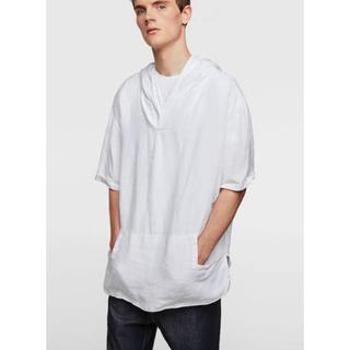 ザラ(ZARA)のZARA ビッグシルエットリネンシャツ(Tシャツ/カットソー(半袖/袖なし))