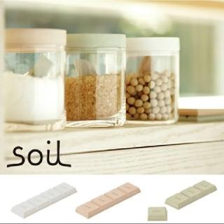 ソイル(SOIL)のsoilドライングブロック ※ホワイト②(収納/キッチン雑貨)