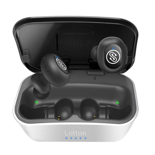 iphone 7 ケース 韓国 usb | ワイヤレスイヤホン、Bluetooth 5.0、12mmグラフェンドライバーの通販 by HAMMAR's shop|ラクマ