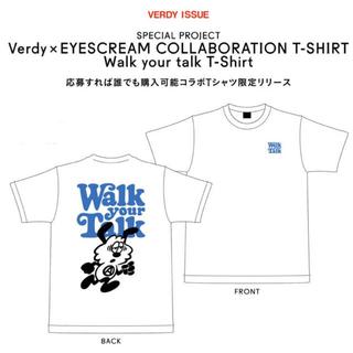 アイスクリーム(EYESCREAM)のVerdy x EYESCREAM Tシャツ Lサイズ 雑誌付き(Tシャツ/カットソー(半袖/袖なし))