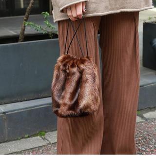 トゥデイフル(TODAYFUL)の新品未使用 fake minkfur purse(その他)