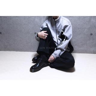 [used]'NIKE' gray × black zip jacket.(ジャージ)