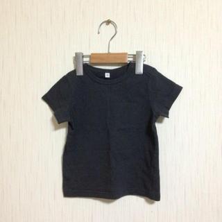 ムジルシリョウヒン(MUJI (無印良品))の無印良品 スミクロTシャツ 90(その他)