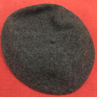 ザラ(ZARA)のグレーベレー帽(ハンチング/ベレー帽)