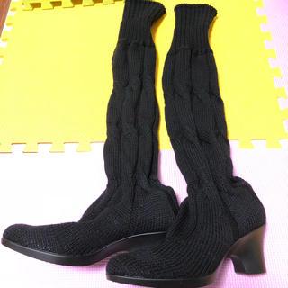 ケイカ(KEiKA)のKEIKA ニットブーツ(ブーツ)
