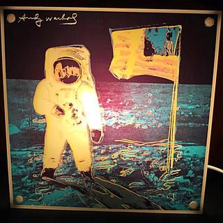 アンディウォーホル(Andy Warhol)の廃番♪♪レア♪♪アンディウォーホル「月面着陸」ルームライト(その他)