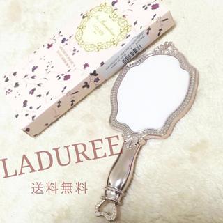 レメルヴェイユーズラデュレ(Les Merveilleuses LADUREE)の残りわずか ラデュレ  ハンドミラー     手鏡 新品(ミラー)