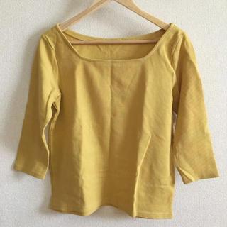ジーユー(GU)のワッフルT(7分袖)*GU(Tシャツ(長袖/七分))