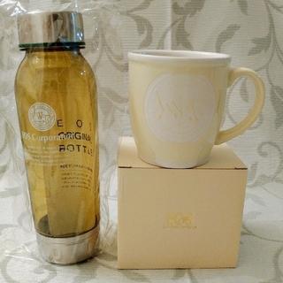 値下げ☆ジェイソンウィンターズティーのオリジナルボトルと マグカップ イエロー②(茶)
