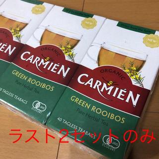 コストコ(コストコ)のCARMIEN グリーン ルイボスティー 2箱分 80包 コストコ costco(茶)