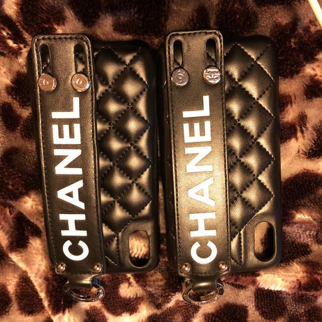 CHANEL iPhoneX.XSケースの通販 by ひろ's shop|ラクマ
