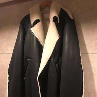 バレンシアガ(Balenciaga)のCDM様 3月20日まで取り置き sub-age  ムートンライダース(ライダースジャケット)