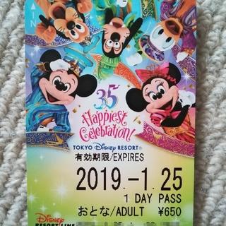 ディズニー(Disney)のディズニー リゾートライン フリーきっぷ リゾラ 35周年 BIG5 ミッキー(鉄道乗車券)