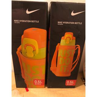 ナイキ(NIKE)のサーモス  新品未使用 ステンレス水筒 値下げ 保冷ボトル 子供用水筒 ナイキ(弁当用品)